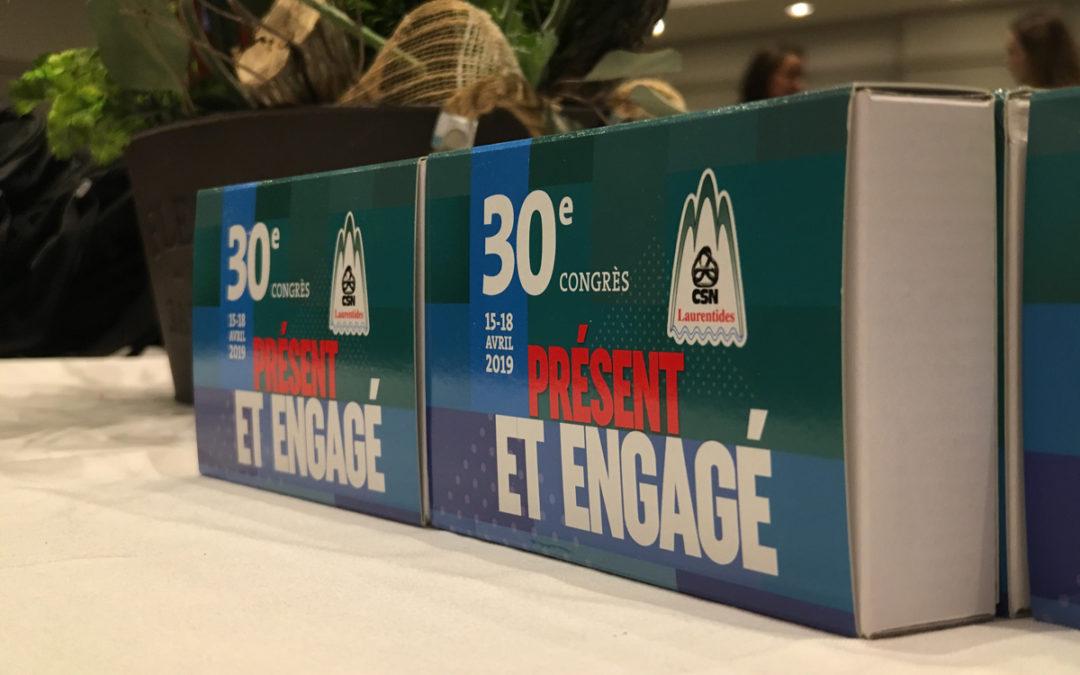 30e congrès du CCSNL; des syndicats présents et engagés